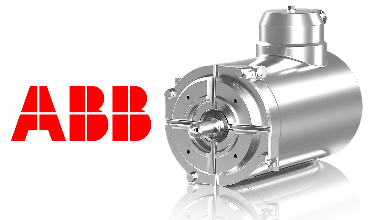 New Abb Stainless Steel Encapsulated Motor For Washdown