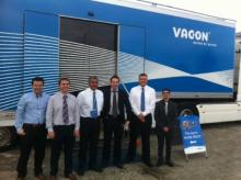 JJ LOUGHRAN OPEN DAY WITH THE VACON TRUCK WAS A GREAT SUCCESS